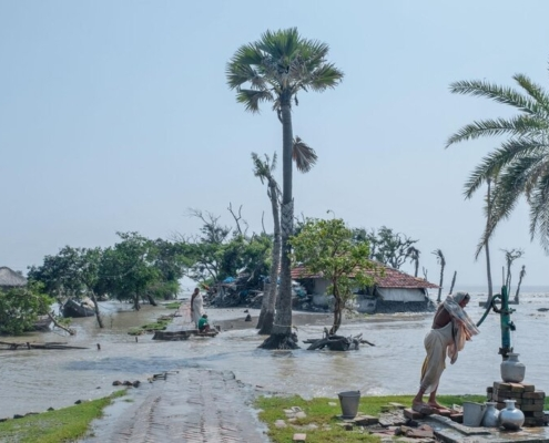 FLOODING SUNDERBANS RISING SEA LEVEL IN INDIA AND BANGLADESH, CREDITS- NATIONAL GEOGRAPHIC