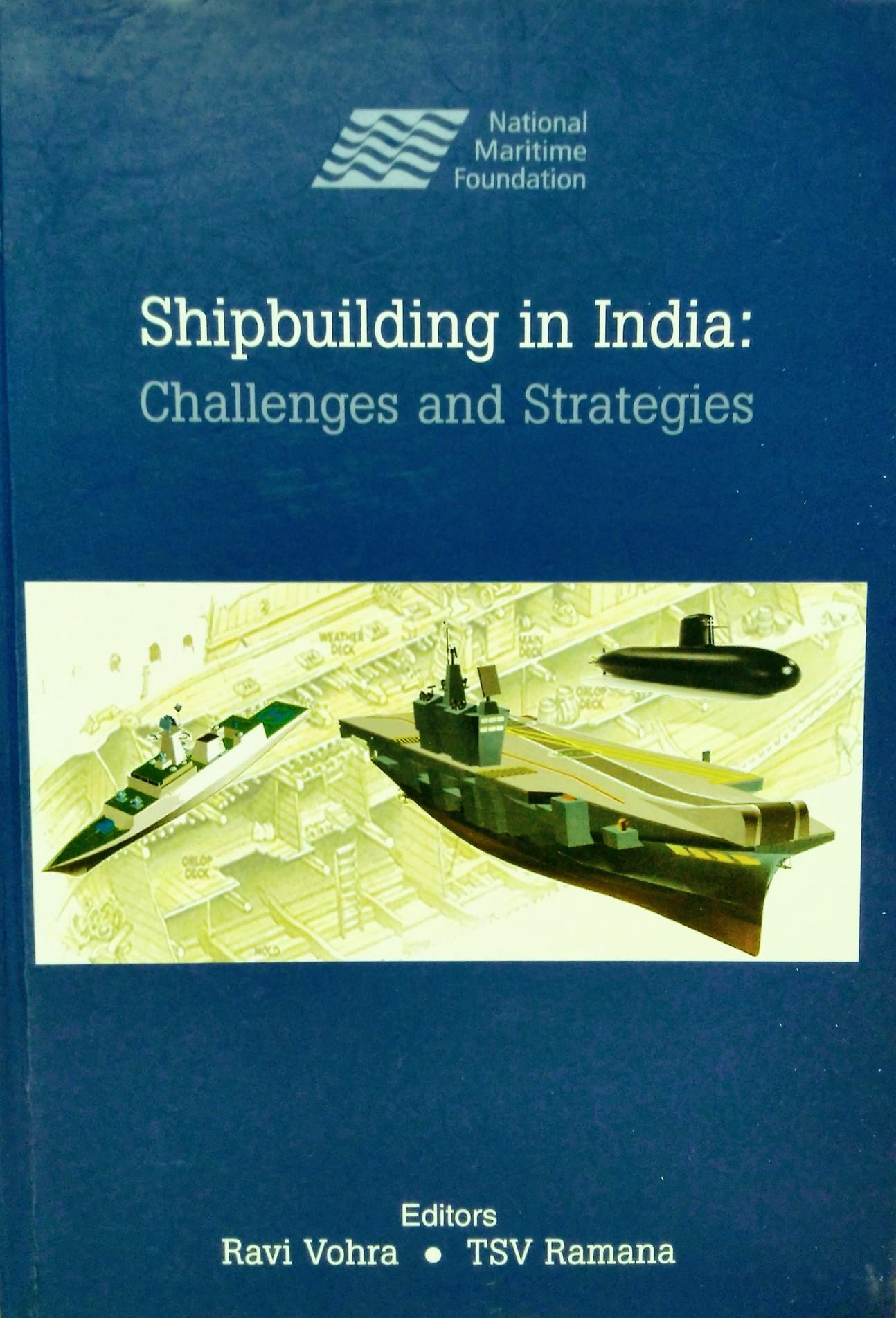 SHIPBUILDING IN INDIA
