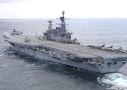 INS VIRAAT HELICOPTER