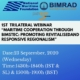 "First Trilateral Webinar on ""Maritime Cooperation through BIMSTEC: Promoting Revitalised and Responsive Regionalism"""