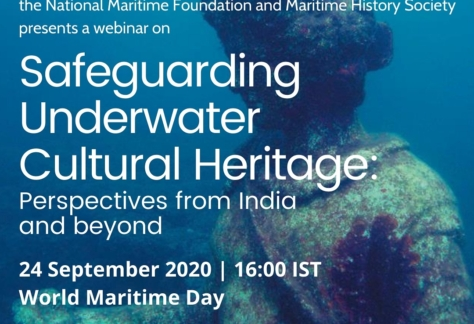 """UNESCO-NMF-MHS Webinar """"Safeguarding Underwater Cultural Heritage: Perspectives from India and beyond"""""""