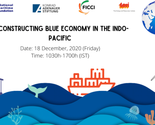 Webinar on Blue economy Deconstructing Blue Economy in the Indo-Pacific