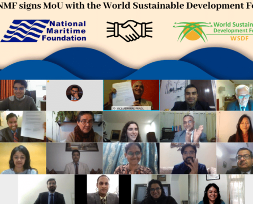 The NMF signs MoU with the World Sustainable Development Forum