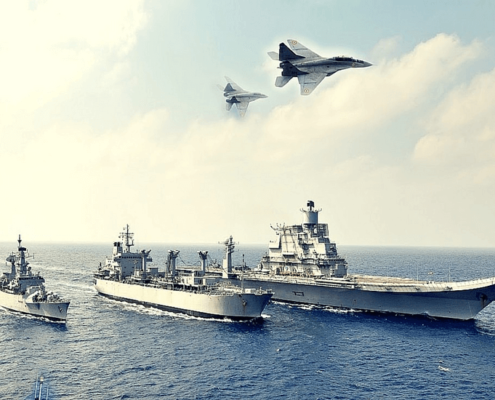 INTERNATIONAL FLEET REVIEWS: SHOWCASING INDIA'S NAVAL ORIENTATION