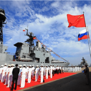 CHINA-RUSSIA NAVAL EXERCISES IN SOUTH CHINA SEA